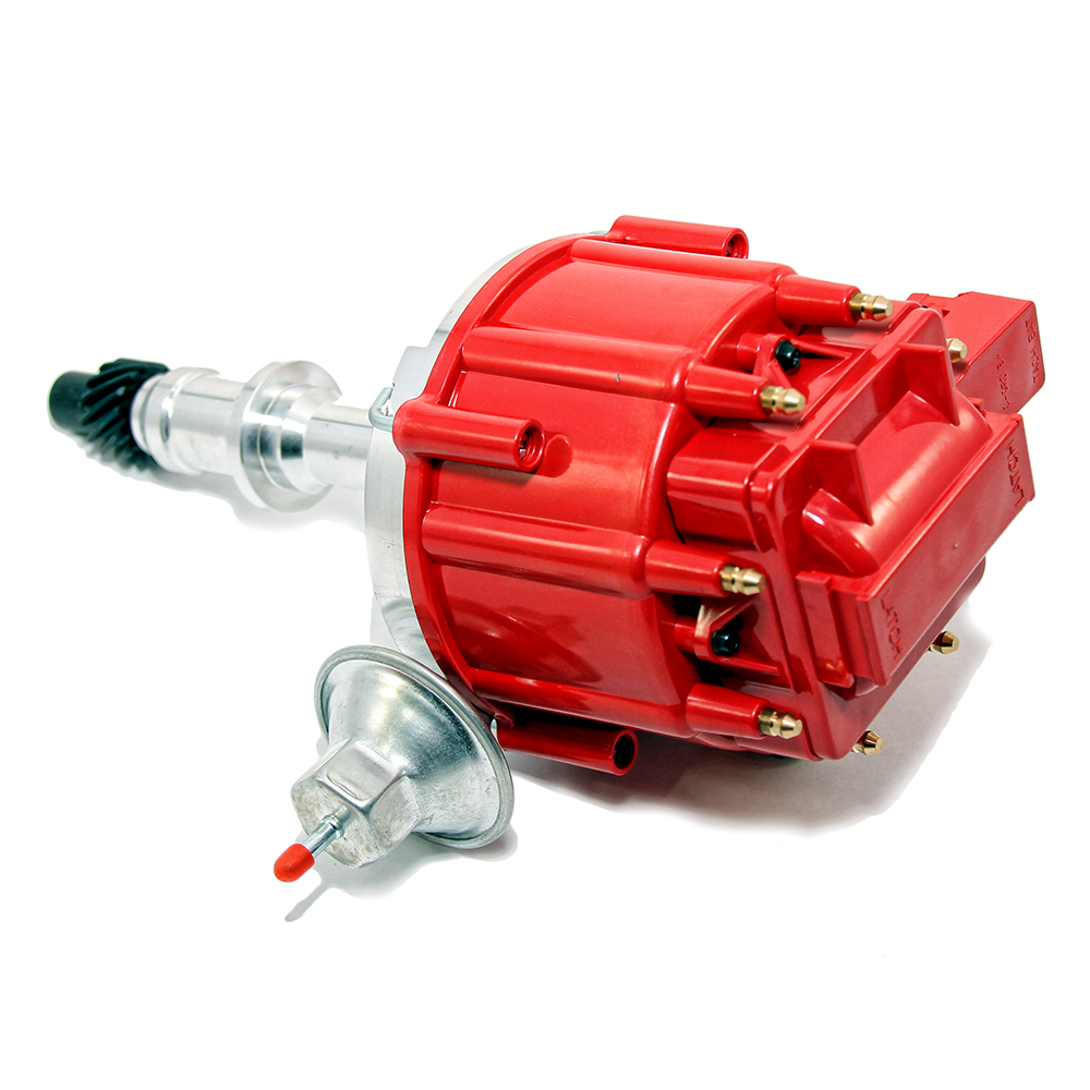 Shop For Ignition Assault Racing Products 327 Chevy Distributor Cap Wiring Diagram Pontiac V8 Hei Red 65k Coil
