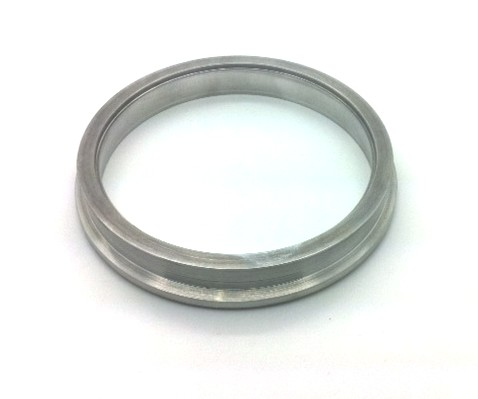 "YOU CAN WELD 4"" OR 4.5"" TUBING TO THIS FLANGE"