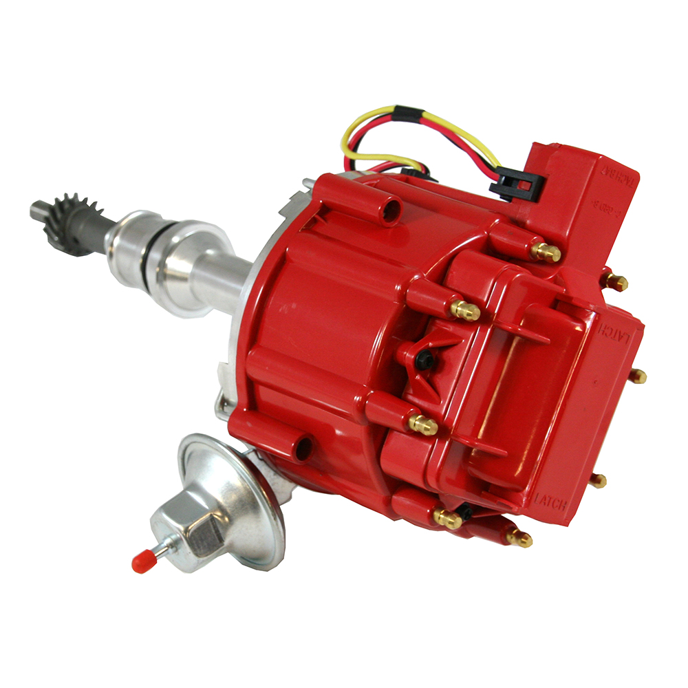 Ford 351c 460 Hei Red Cap Distributor 65k Coil Assault