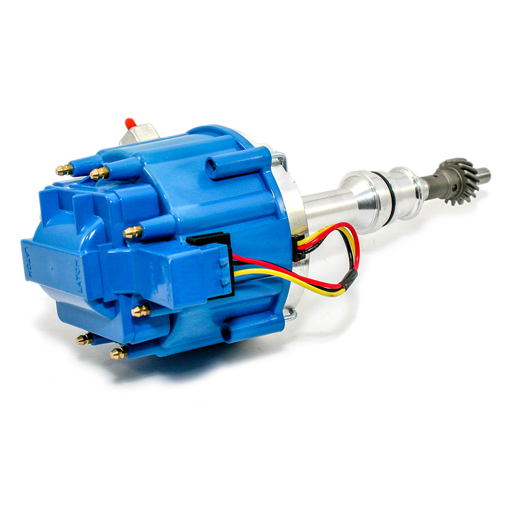 Ford 351c 460 Hei Blue Cap Distributor 65k Coil Assault Racing Wiring