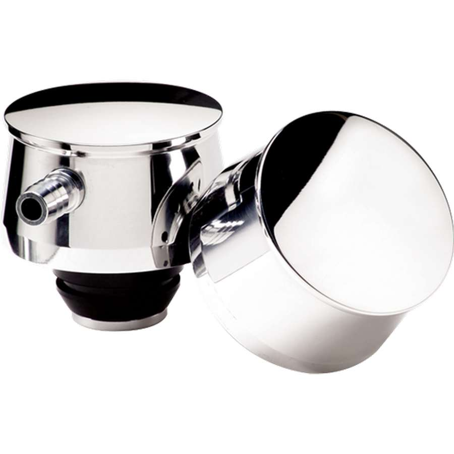 """1-1//4/"""" Hole Proform 302-215 Oil Breather Cap Push-In Chrome Fits Ford Racing"""