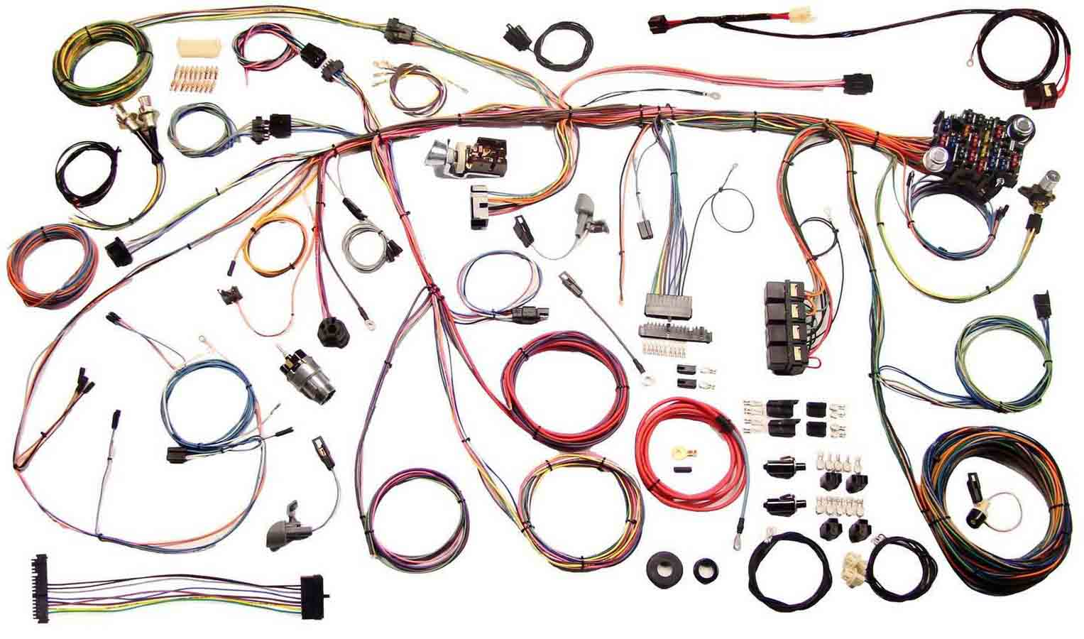 Shop For American Autowire Wiring Harnesses Etheridge Race Parts Automotive Harness 70 Mustang Harnes Complete Car