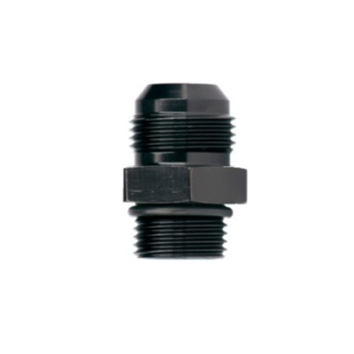 -10 FLARE X -12 O-RING BOSS 10 AN X 12 O-RING BOSS FITTING BLACK