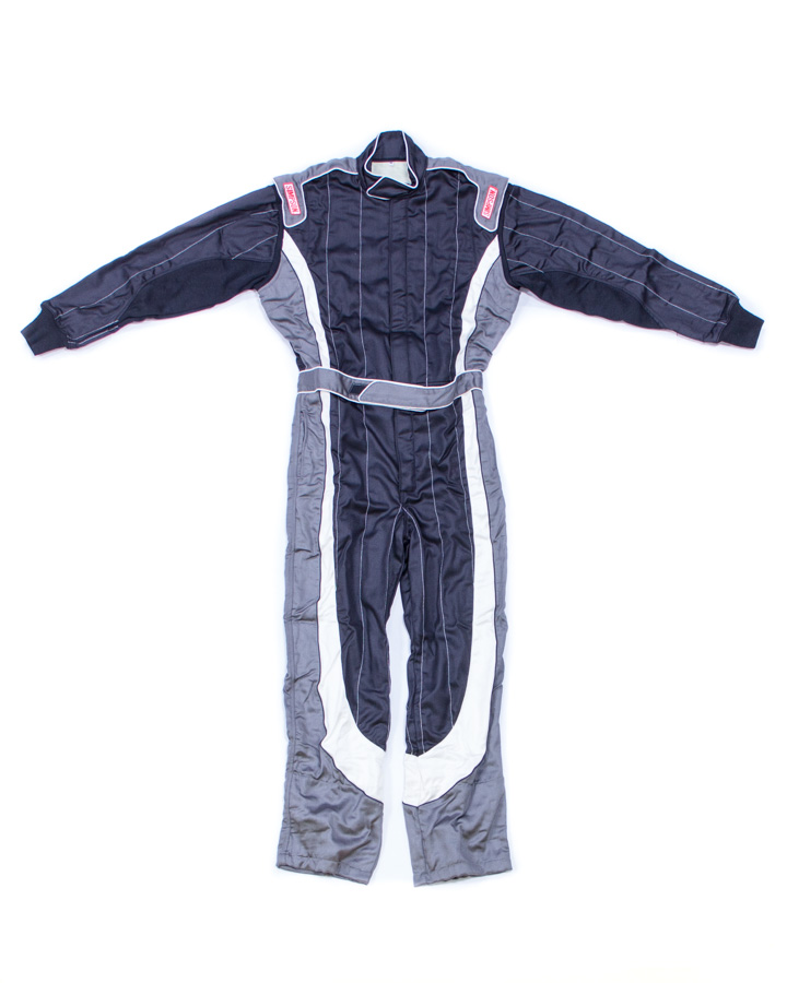 Simpson HXY2321 Helix Youth Suit Large Black//Gray