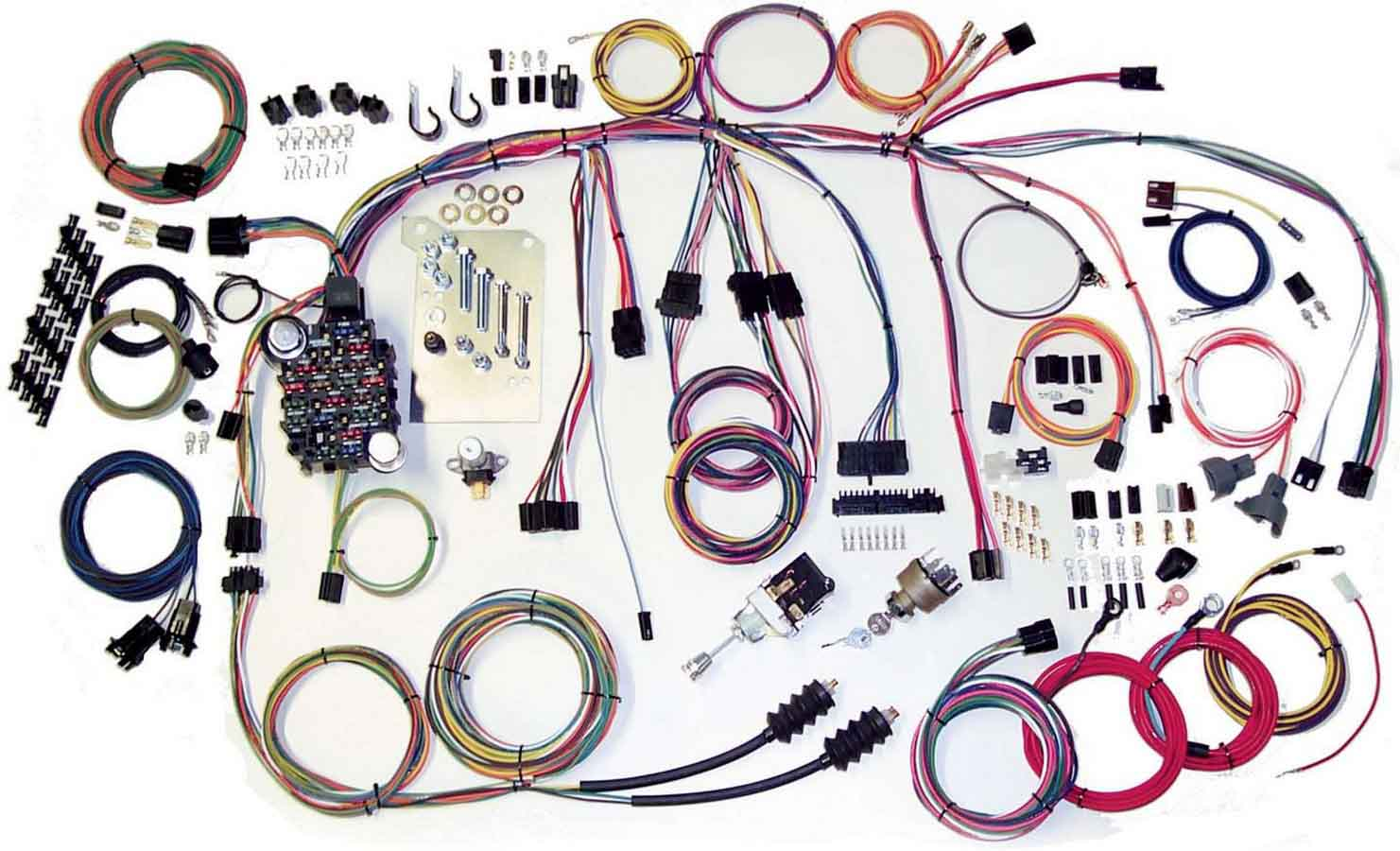 Shop For American Autowire Wiring Harnesses Auto Wire Harness Kits 60 66 Chevy Truck