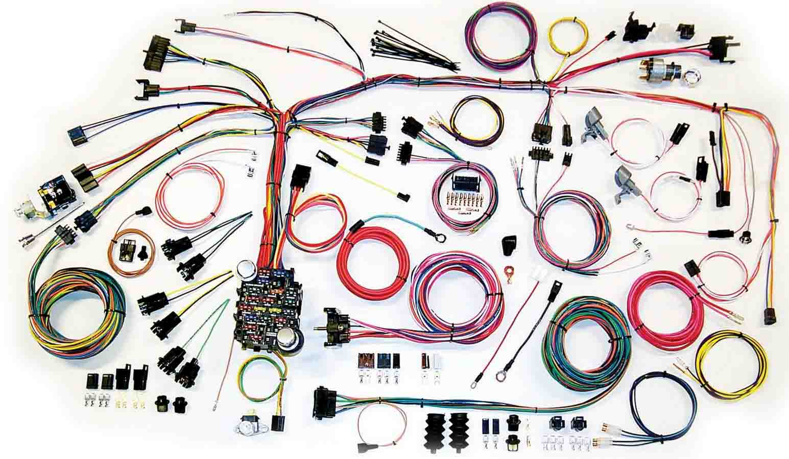 Shop For Full Wiring Harness Application Specific 1967 C10 Steering Column Diagram Schematic 67 68 Camaro Wire Harnes System