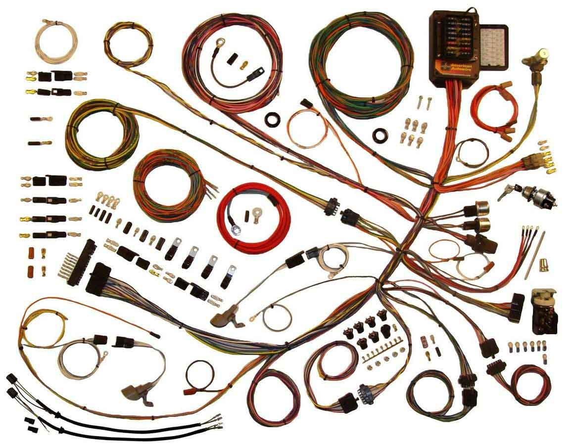 Shop For American Autowire Wiring Harnesses Etheridge Race Parts Dodge Challenger Harness On 1967 Chrysler 300 53 56 Ford P U