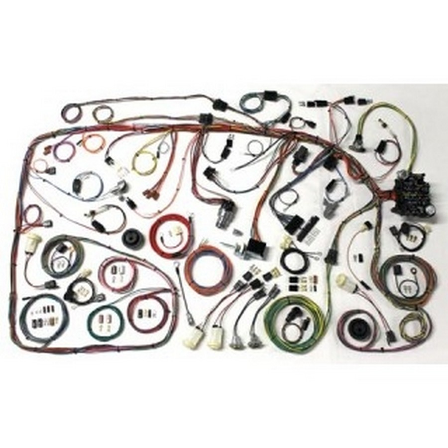 Shop For American Autowire Full Wiring Harness Application Specific Etheridge Race Parts