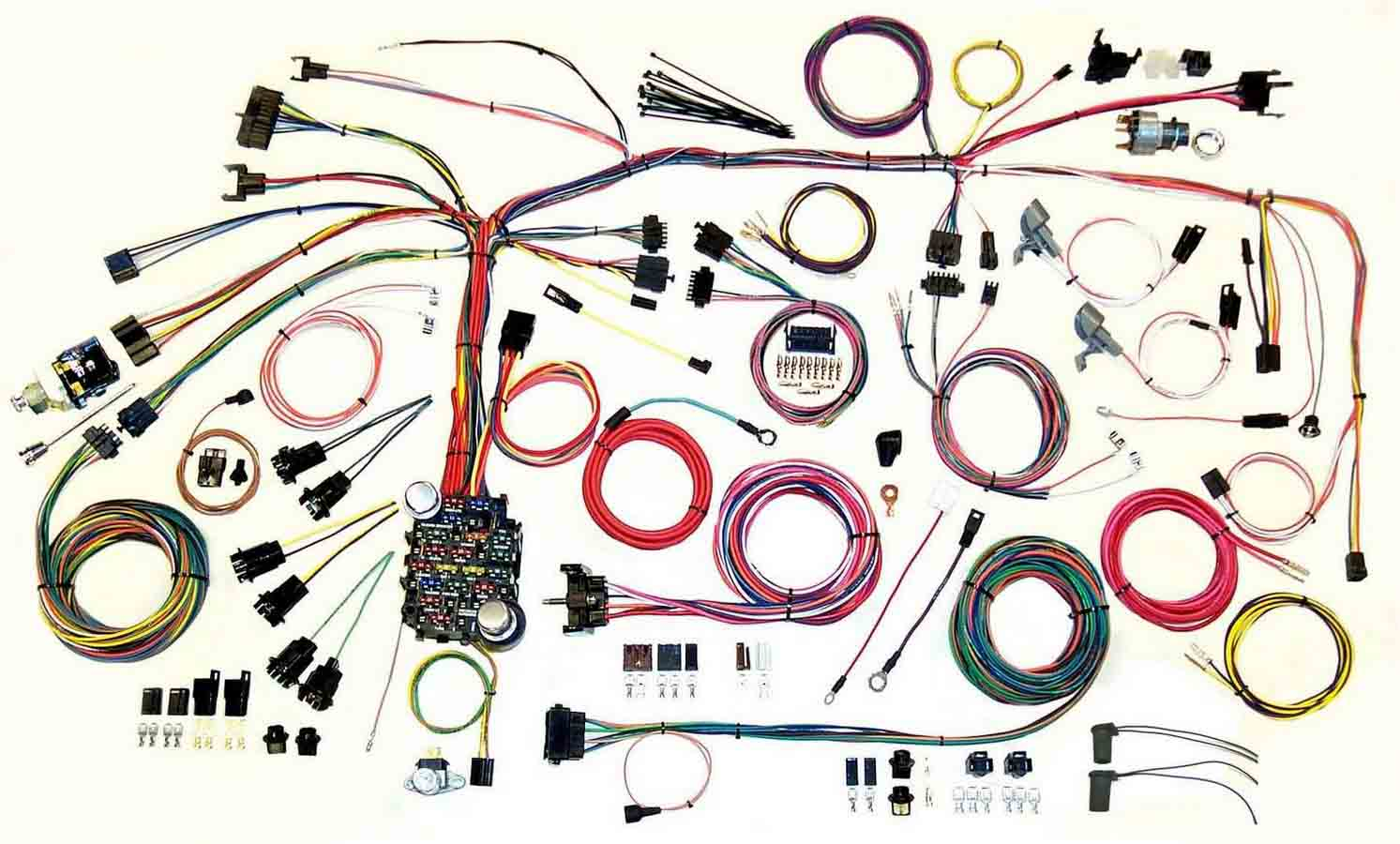 Shop For Full Wiring Harness Application Specific Show 67 68 Firebird Wire System