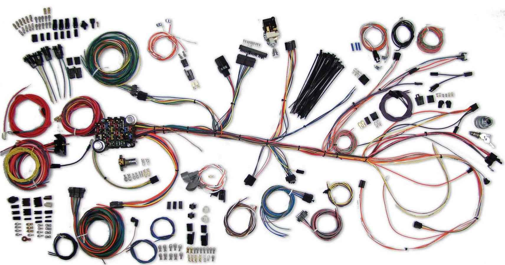 Shop For Full Wiring Harness Application Specific Car Kits 64 67 Chevelle Wire System