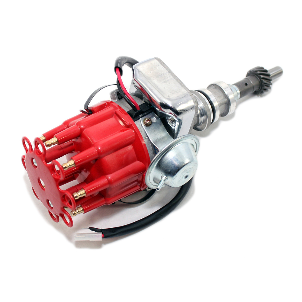 Shop For Distributors Assault Racing Products Chrysler 440 Distributor Wiring Ford 351w Ready To Run Red Cap