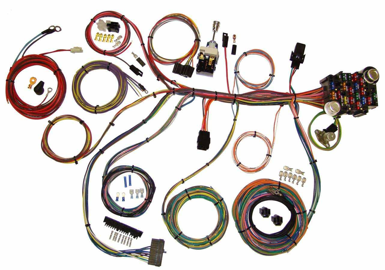 Shop For American Autowire Wiring Harnesses Auto Wire Harness Kits Power Plus 20 Integrated Fuse Box System Complete Car
