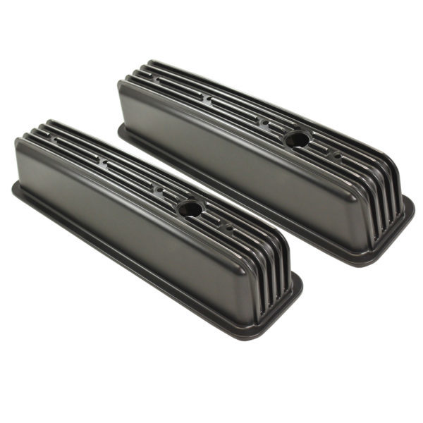 SPC Performance 8195 Tall Valve Cover With Baffle for Small Block Chevy