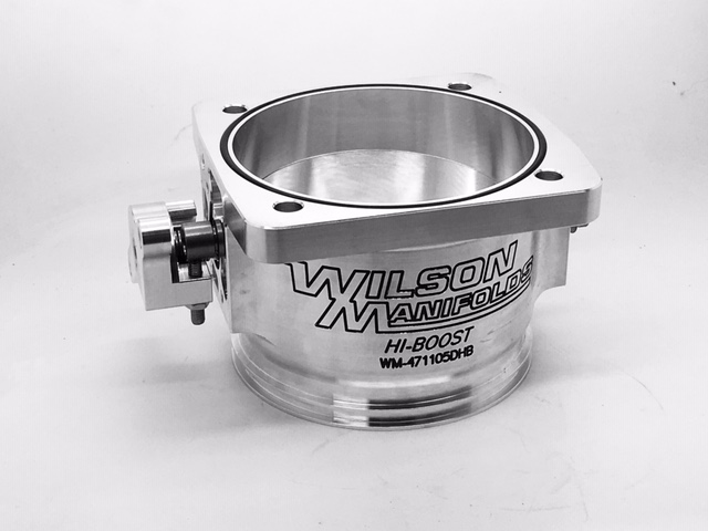 WILSON MANIFOLDS DUAL SEAL 105MM THROTTLE BODY 471105DHB