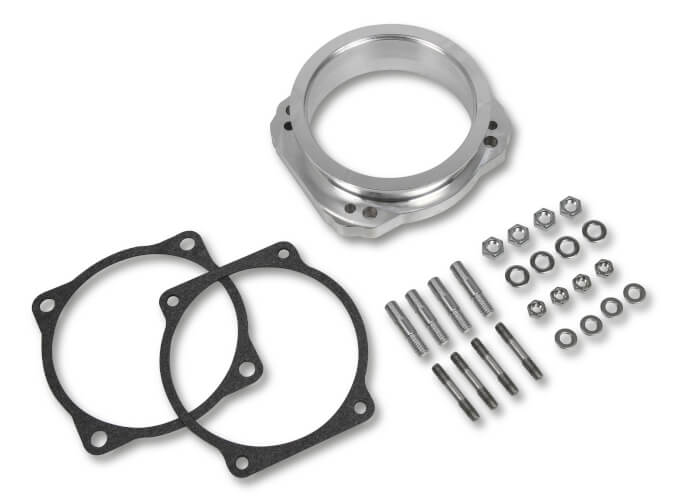 300-250 HOLLEY THROTTLE BODY V-BAND ADAPTER