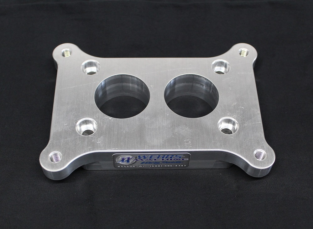 2brl Chev to Holley 4412 3502brl :: Wehrs Machine & Racing