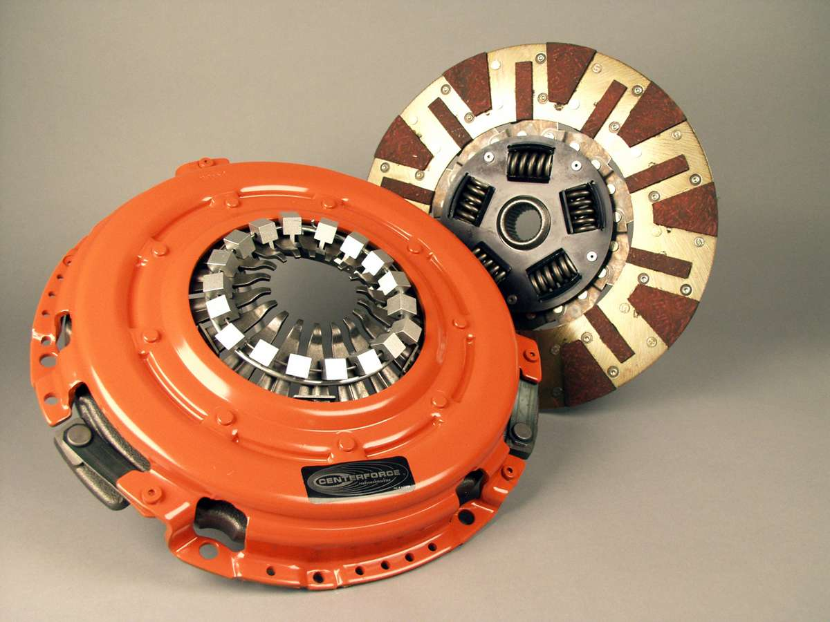 Centerforce DF519021 Dual Friction Clutch Pressure Plate and Disc