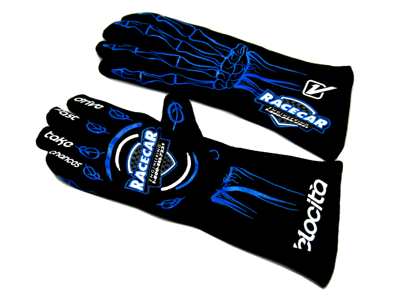 RACECAR COMPETITIVE EDGE™ - DRIVING GLOVES - SFI APPROVED