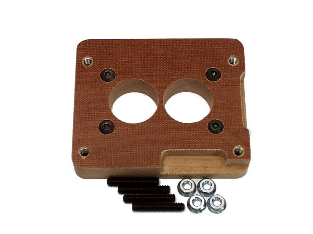 "Canton 85-060 Phenolic Carburetor Adapter For Holley 2BBL And Holley 4BBL 1/""Tall"