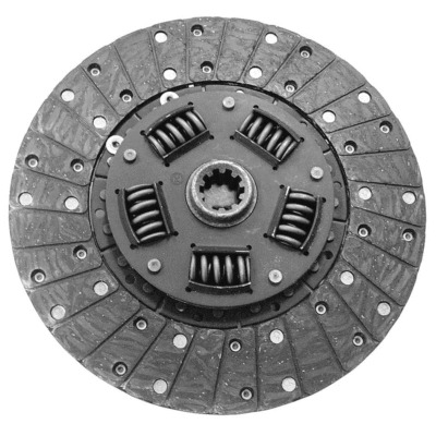CLUTCH DISC, HD, 10-1/2 IN DIAMETER, 1-1/16 IN X 10 SPLINE, SPRUNG HUB, CARBON / METALLIC, FORD,