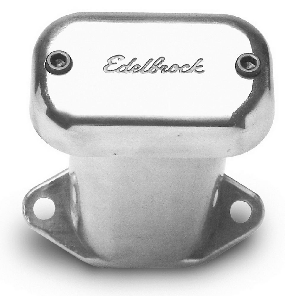 edelbrock 4213 VALVE COVER BREATHER;POLISHED ROUND PUSH-IN ALUM BREATHER FOR VC