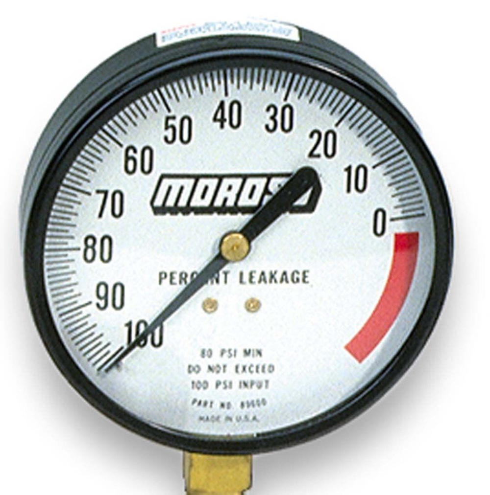 Moroso 89602 Cylinder Leakage Tester with Adapter