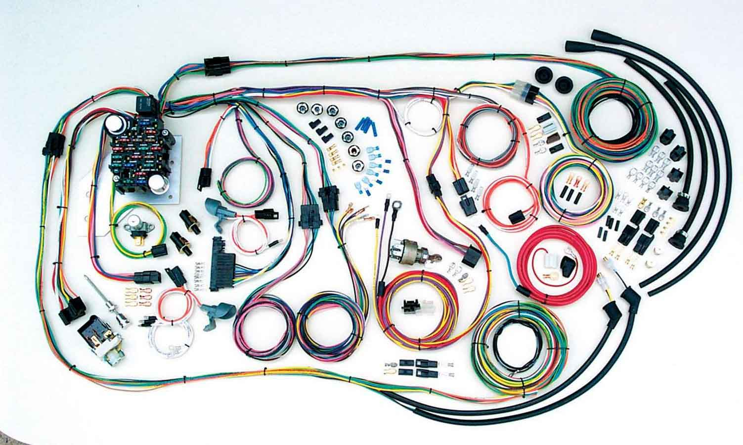 Shop For Wiring Harnesses Arob Performance Parts Painless 50001 Fuse Box 55 59 Chevy Truck Harness