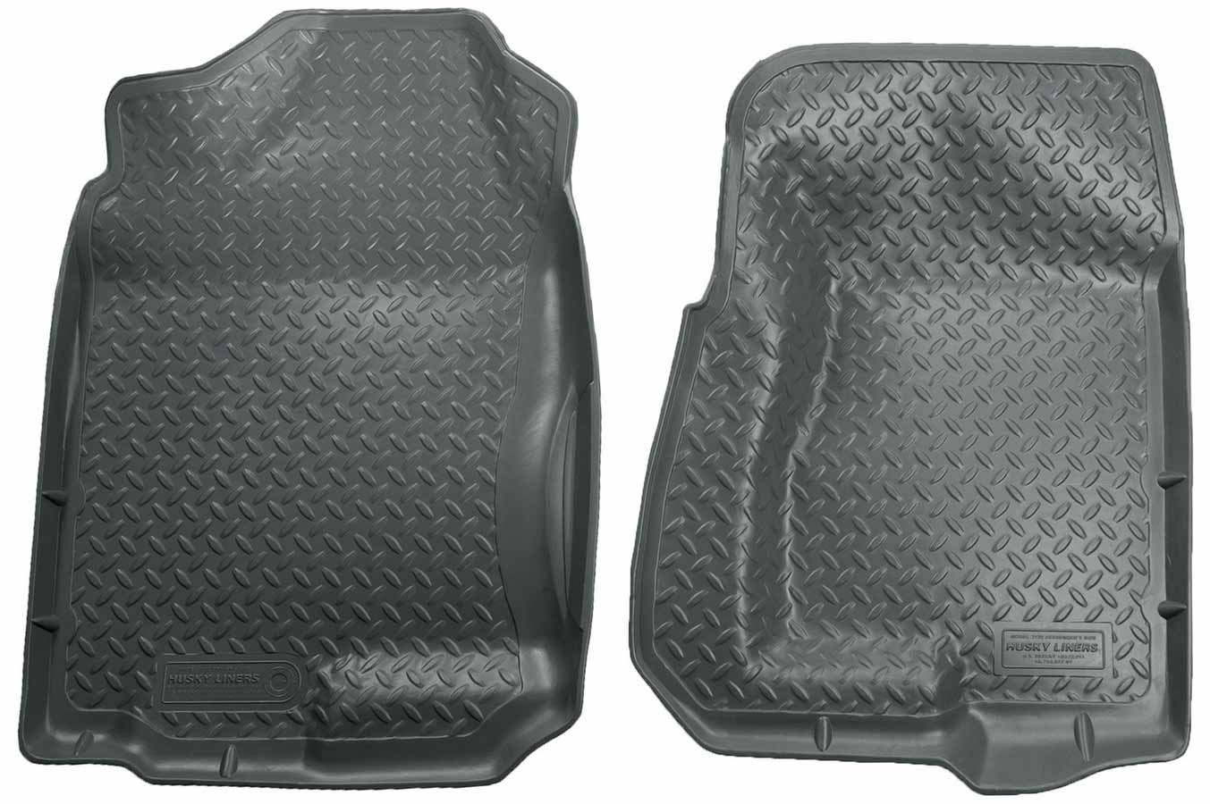 Husky Liners 31101 For Chevrolet//GMC K2500 Classic Style Front Floor Liners