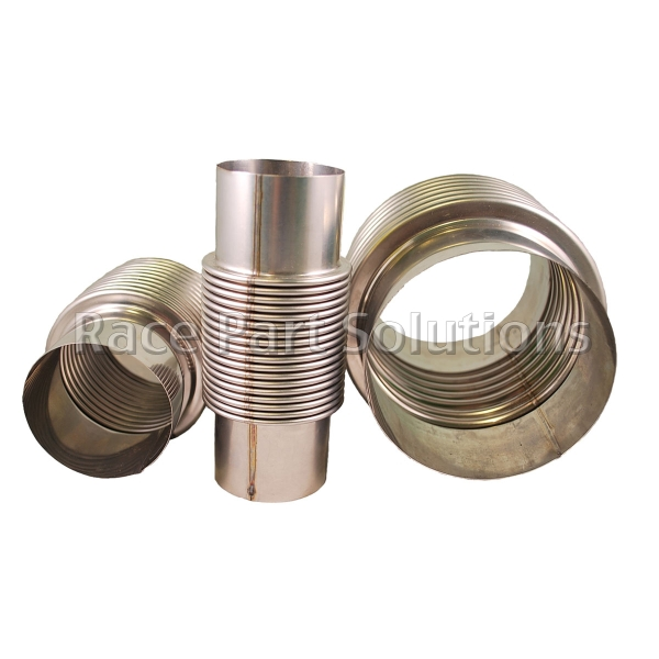 Stainless steel bellow quot id long race part solutions