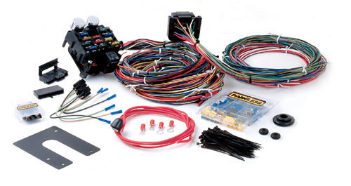 Shop for Full Wiring Harness - Universal :: Universal Wiring Harness Diagram on