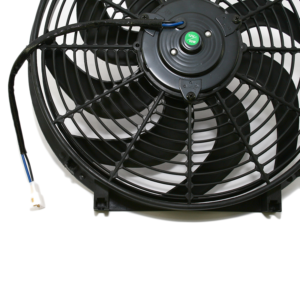 10 Quot Black S Blade Electric Radiator Fan W Hardware