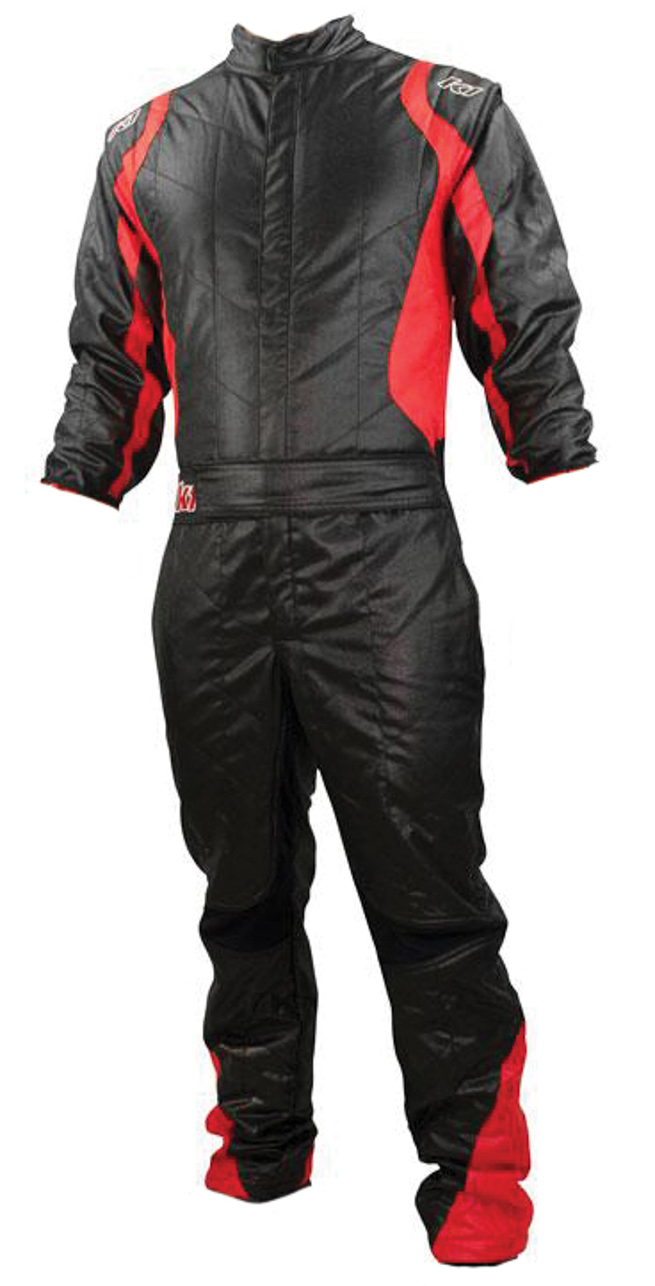 Black 2 Layer Racing Suit-One Piece-SFI-5 Rated Small