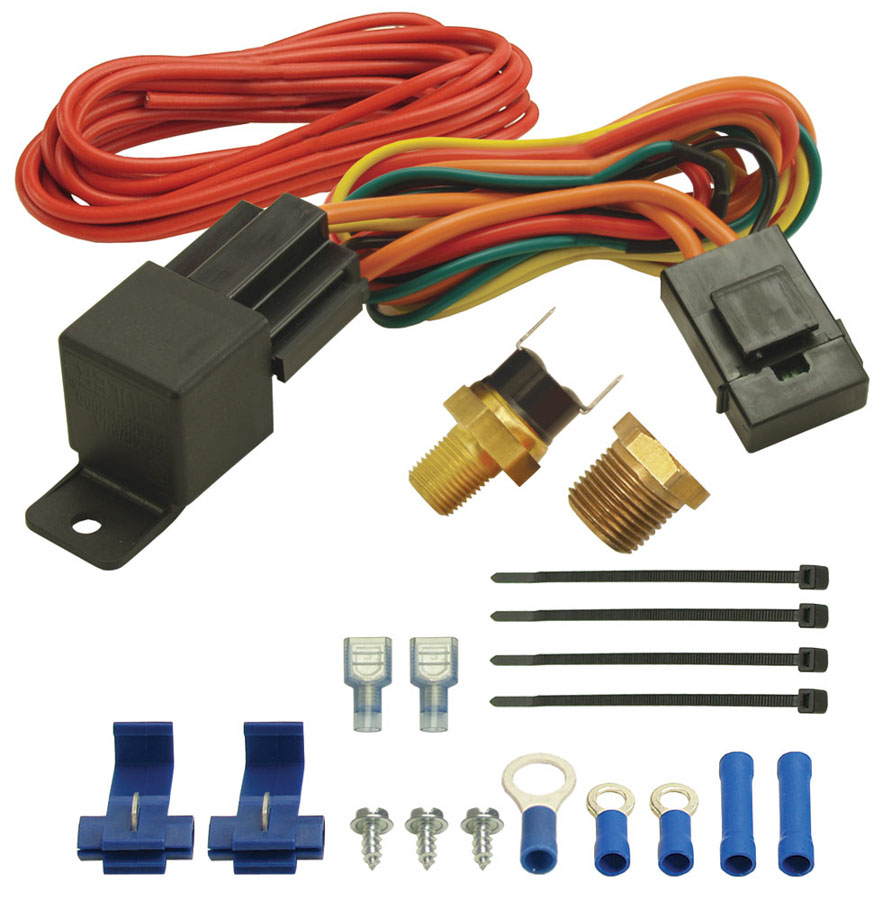 Shop For Electric Fan Controllers Arob Performance Parts Painless Wiring Relay Kit 190f Switch Thermost At 1