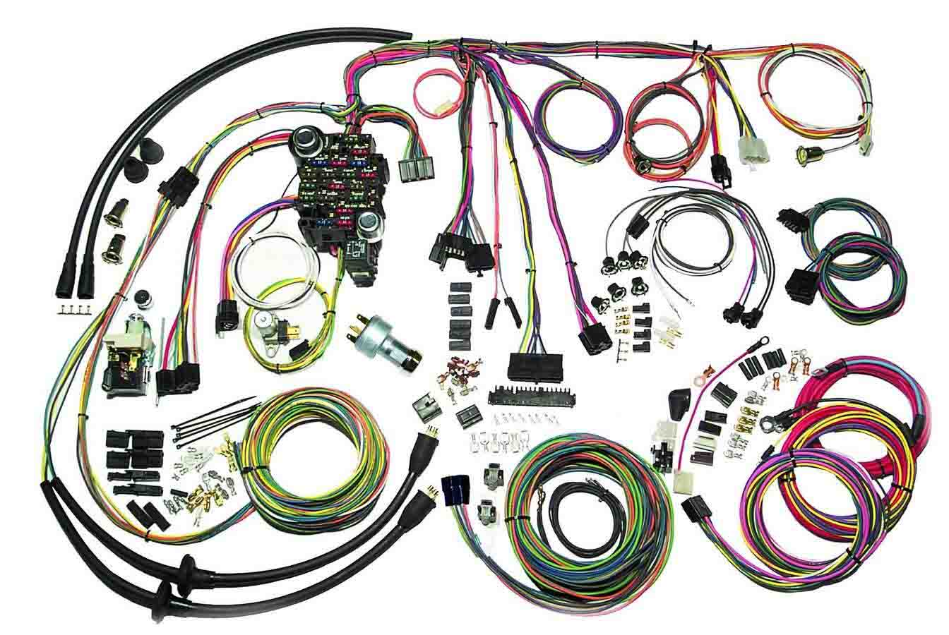 55 Chevy Wire Harness - Technical Diagrams on