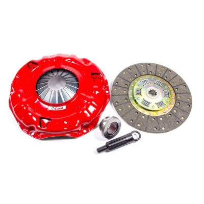 CLUTCH KIT, STREET PRO, SINGLE DISC, 11 IN DIAMETER, 1-1/8 IN X 10 SPLINE, SPRUNG HUB, ORGANIC, 2 PIECE SEAL, GM V8