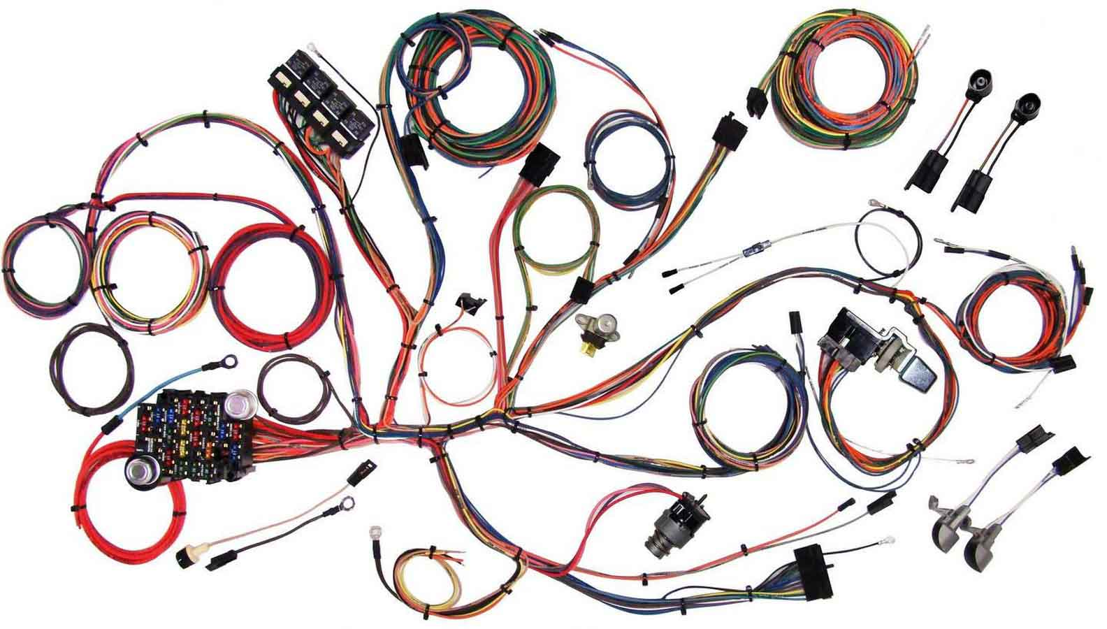 Shop For Wiring Harnesses Arob Performance Parts Painless Harness 1993 Mustang Chassi 64 66 System