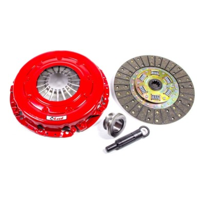 CLUTCH KIT, SUPER STREET PRO, SINGLE DISC, 10-1/2 IN OD, 1-1/10 IN X 10 SPLINE, SPRUNG HUB, ORGANIC / CERAMIC, 4.6 L / 5.0 L, FORD MUSTANG,