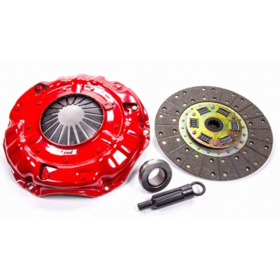 CLUTCH KIT, SUPER STREET PRO, SINGLE DISC, 11 IN DIAMETER, 1-1/8 IN X 10 SPLINE, SPRUNG HUB, ORGANIC / CERAMIC, 2 PIECE SEAL, GM V8,