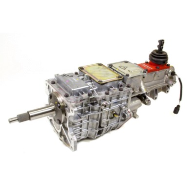 TRANSMISSION, TKO-600, MANUAL, 5 SPEED, 26 INPUT SPLINE, 31 OUTPUT SPLINE, ALUMINUM, NATURAL, FORD,