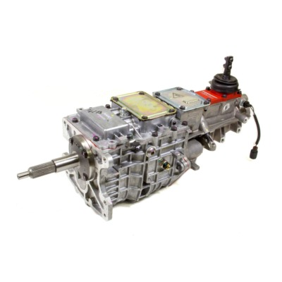 TRANSMISSION, TKO-600, MANUAL, 5 SPEED, 26 INPUT SPLINE, 31 OUTPUT SPLINE, ALUMINUM, NATURAL, GM,