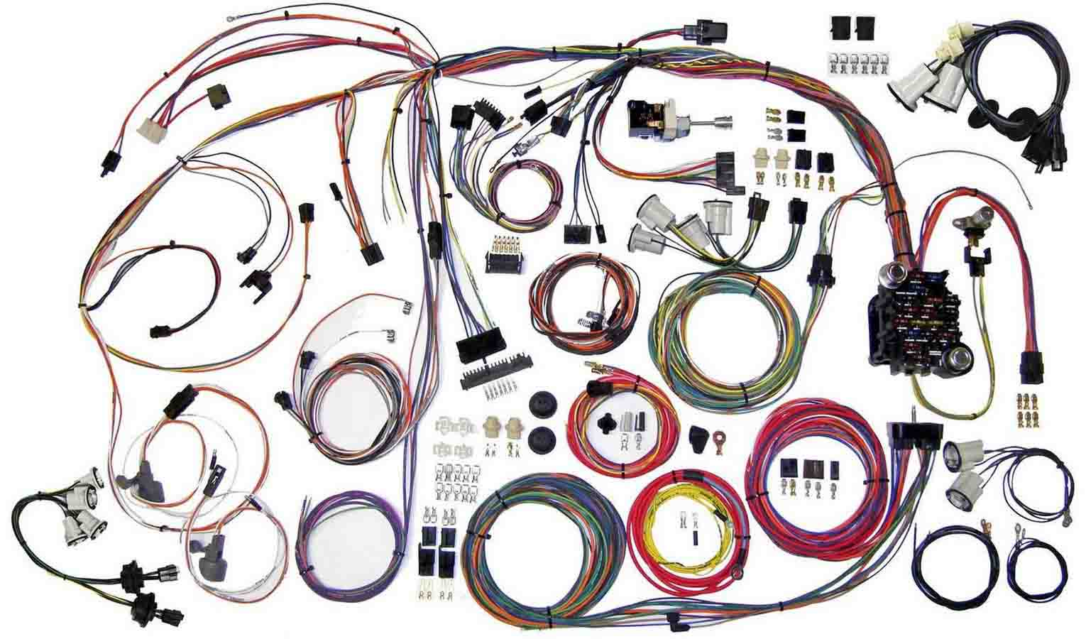 Shop For American Autowire Arob Performance Parts Corvette Wiring Harness 70 72 Chevy Monte Carlo Kit