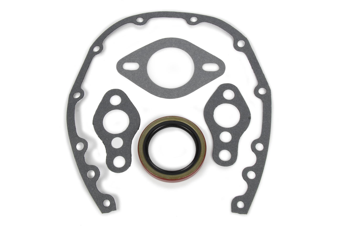 "Vibrant Graphite 3-Bolt Exhaust Gasket 3.50/"" ID"