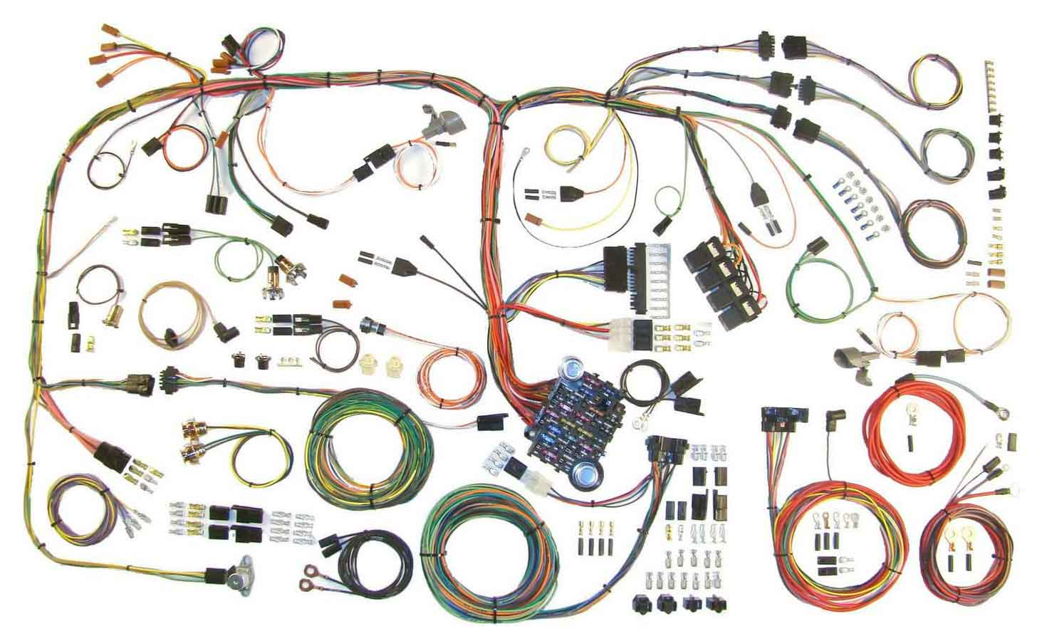 Shop For American Autowire Racecar Engineering Classic Car Wiring Harness Aaw 510289 1