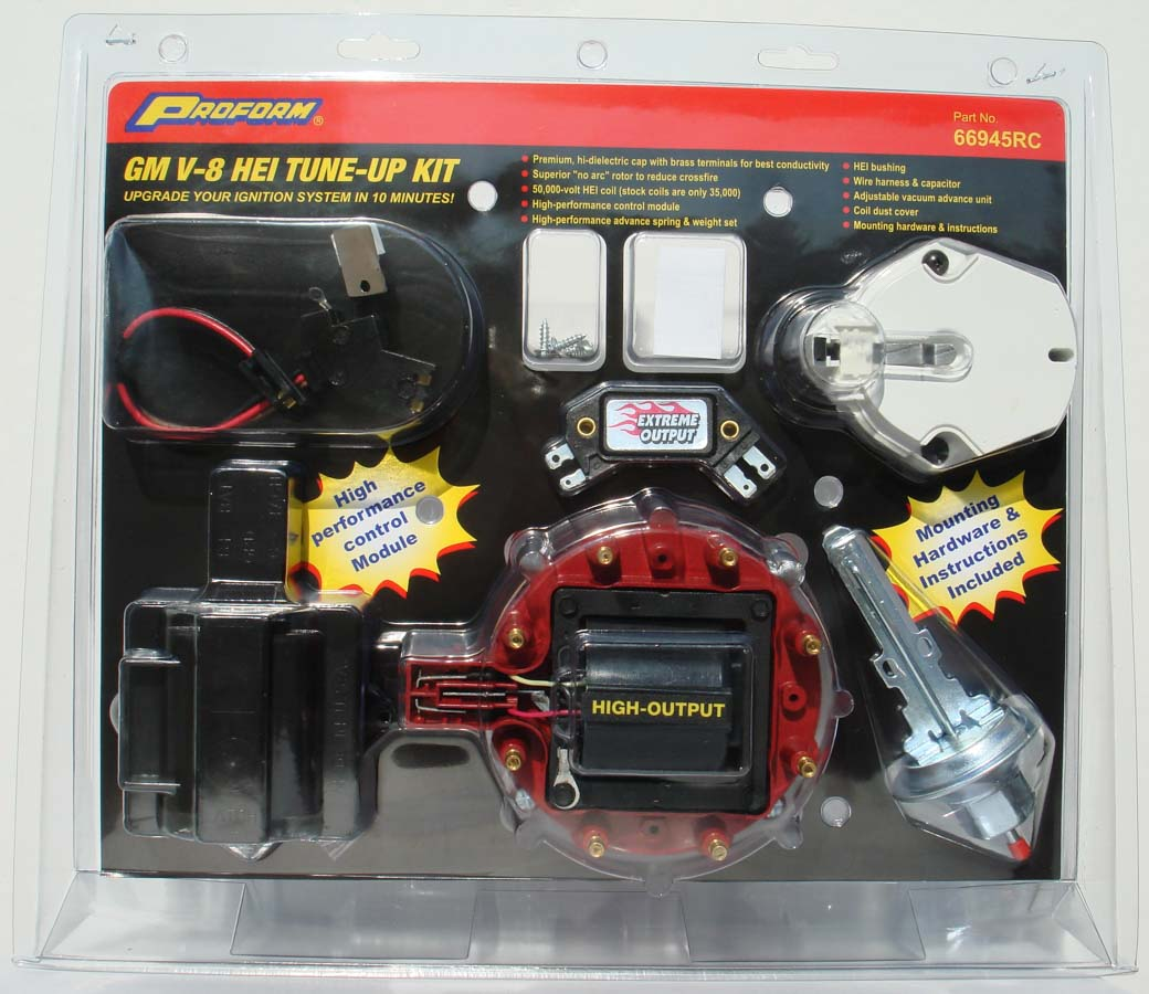 Shop For Ignition Tune Up Kits Etheridge Race Parts Gm Hei Harness Distributor Kit