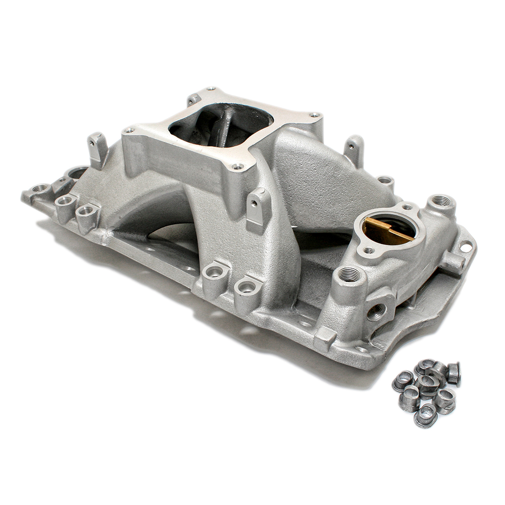Chevy Small Block Single Plane Efi High Rise Satin Intake