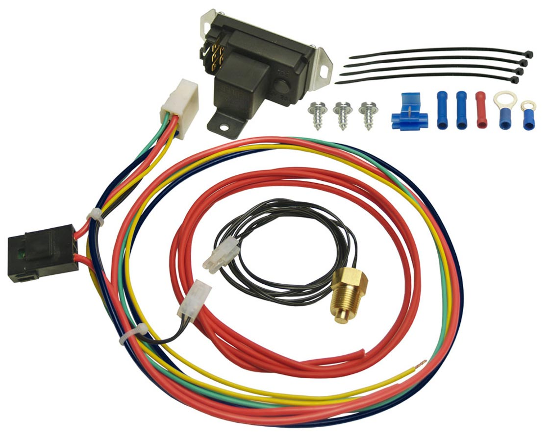 Shop For Derale Electric Fan Wiring And Components Etheridge Race Jeep Adjustable Controler W Pipe Thread P