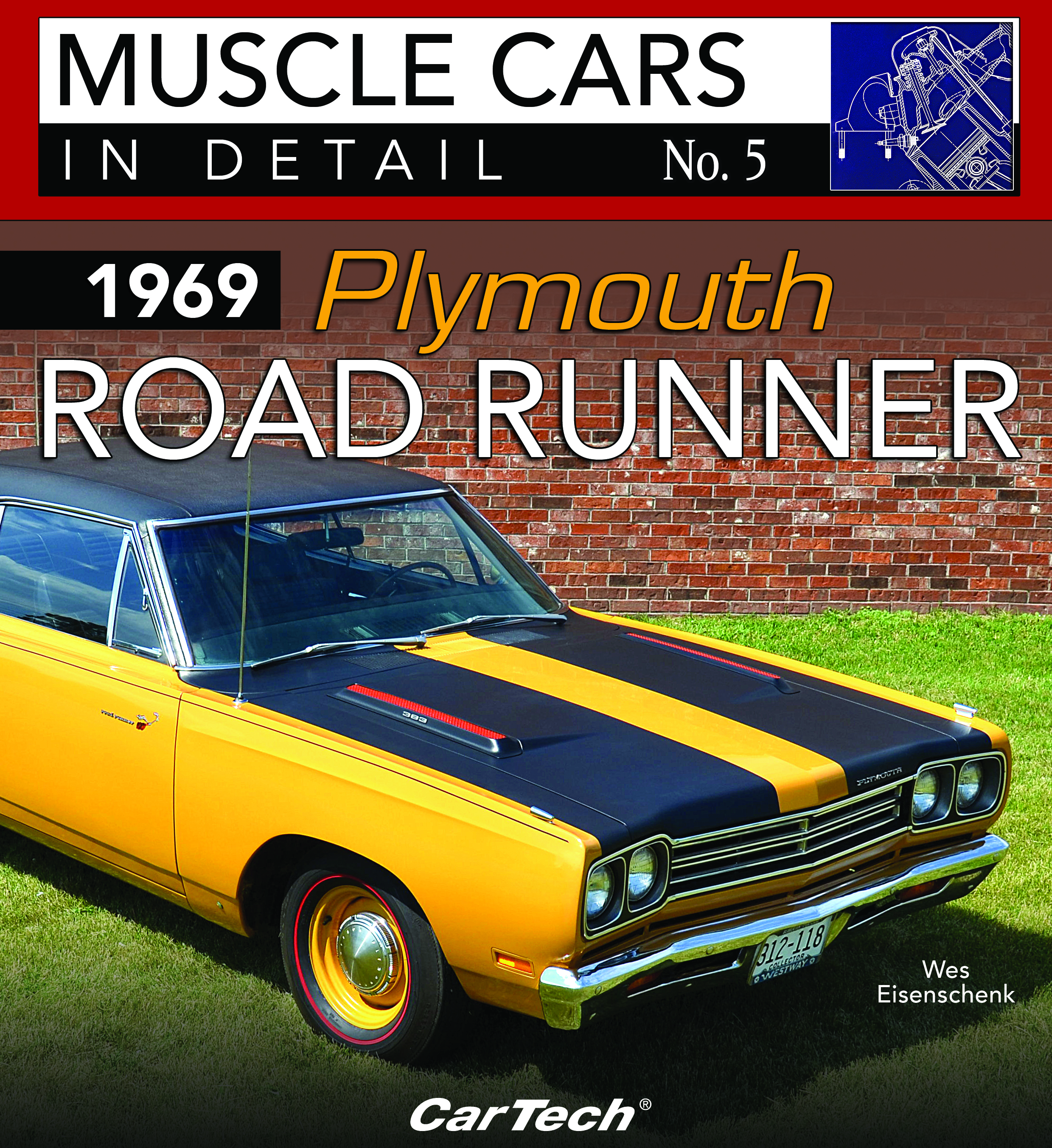 CT578 Cartech 1970 PLYMOUTH SUPERBIRD MUSCLE CARS IN DETAIL NO 11