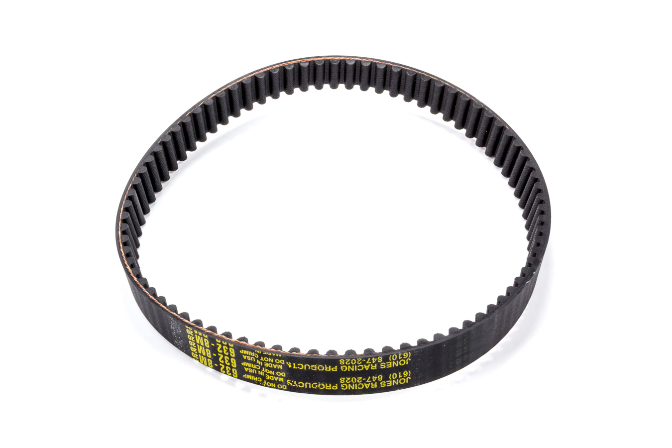 BEMONOC Pack of 2pcs HTD 3M Round Rubber Belts 159mm Length 53 Teeth 15mm Width Closed-loop Industrial Drive Belts