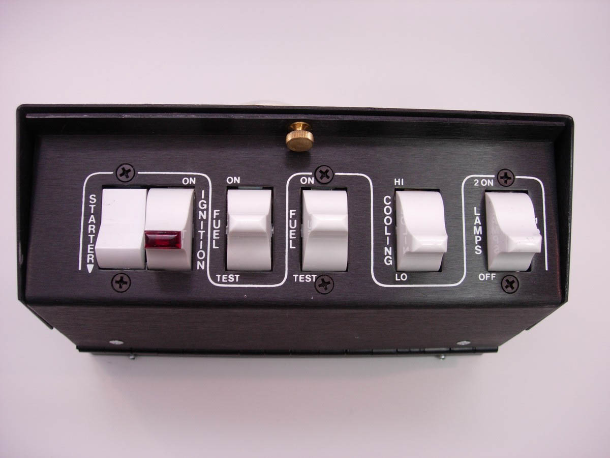 ARC-Auto Rod Controls 3700 Switch Panel Overhead P//S Control Mod