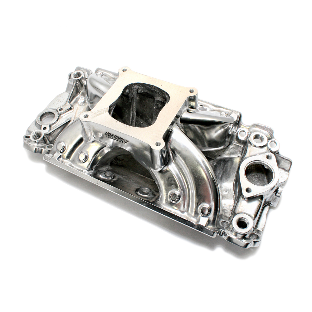 Chevy Big Block Rectangular Port Polished Intake Manifold